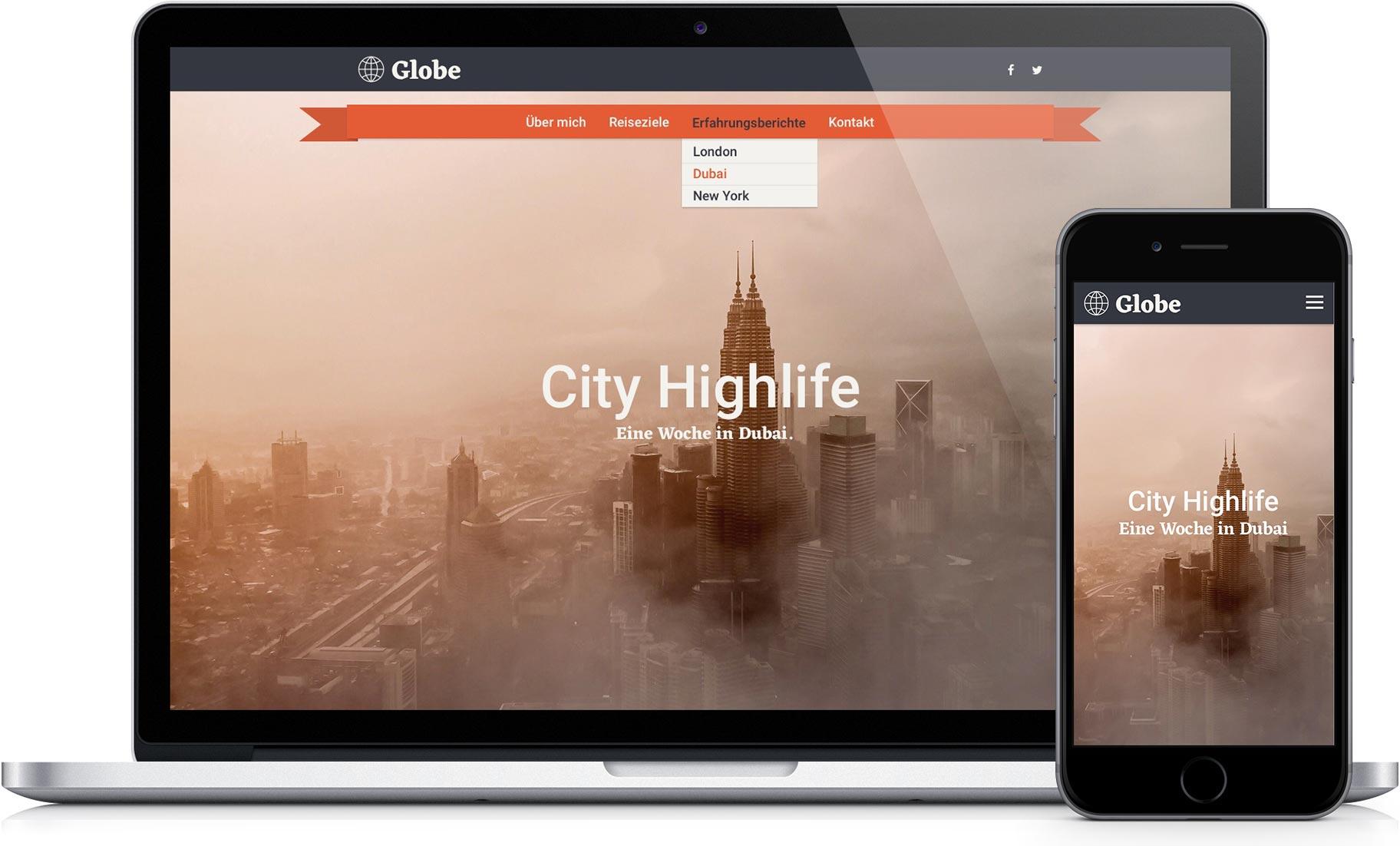 Premium Templates für Ihre Webseite