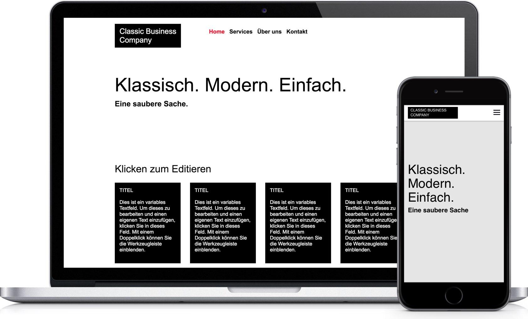 Easy Classic Website Creator